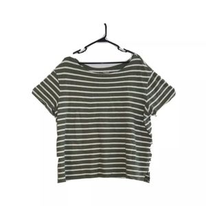 Old Navy Women's Size XXL Striped SS Tee Guc  Bust